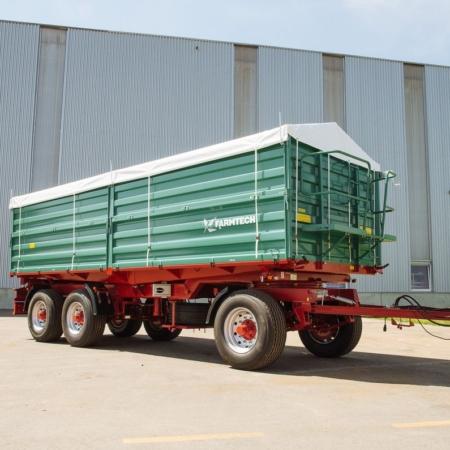 Triosne traktorske prikolice Farmtech