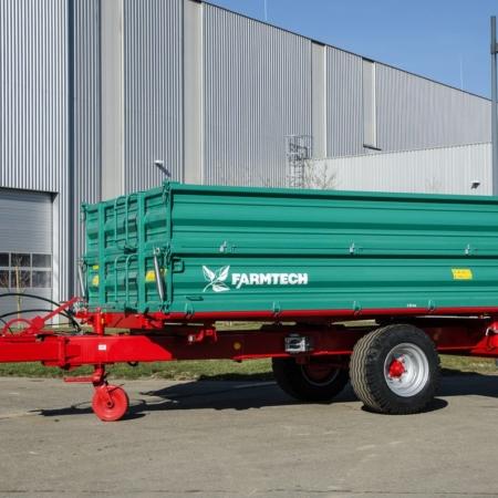 Enoosne traktorske prikolice Farmtech