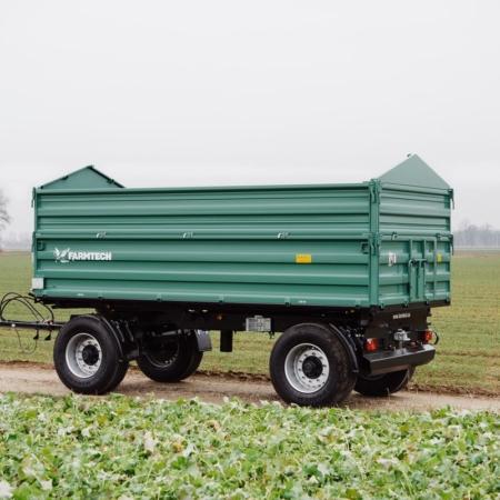 Dvoosne traktorske prikolice Farmtech